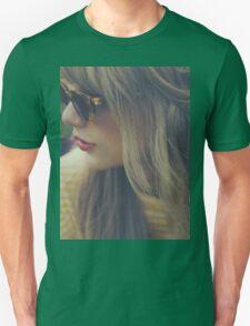 RED GLASSES  Unisex T-Shirt