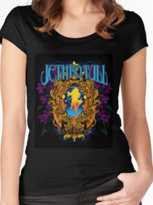 jethro tull black originaly Women's Fitted Scoop T-Shirt