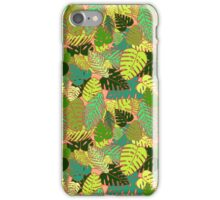 Tropical Paradise Pattern iPhone Case/Skin