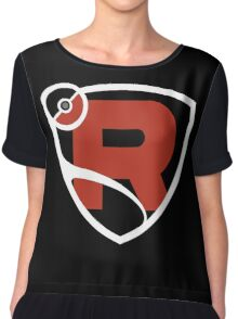 Team Rocket League Chiffon Top