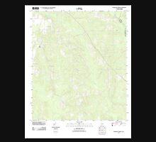 USGS TOPO Map Alabama AL Dogwood Creek 20110921 TM Unisex T-Shirt