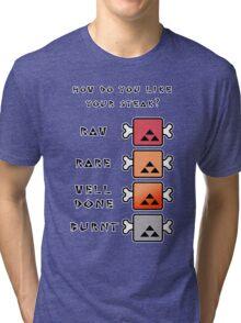 Monster Hunter STEAK Tri-blend T-Shirt