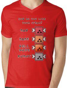 Monster Hunter STEAK Mens V-Neck T-Shirt
