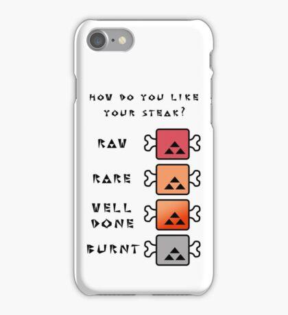 Monster Hunter STEAK iPhone Case/Skin