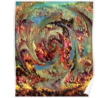 Volcanic eruption ipad case by rafi talby Poster