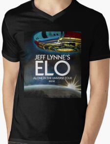 "ALONE IN THE UNIVERSE TOUR 2016 "" E L O ""  JEFF LYNE'S Mens V-Neck T-Shirt"