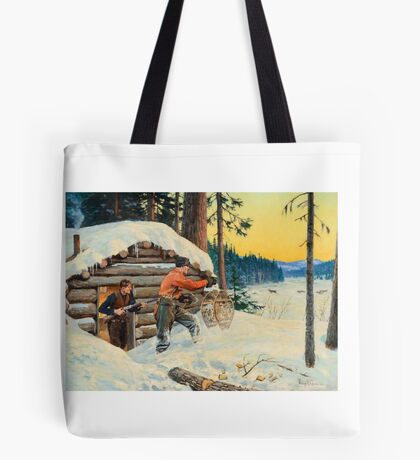 PHILIP R. GOODWIN () When Opportunity Knocks Tote Bag