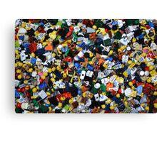 Lego Everywhere Canvas Print