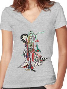 out-of-the-way Women's Fitted V-Neck T-Shirt