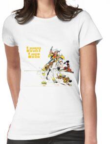 luckyluke Womens Fitted T-Shirt