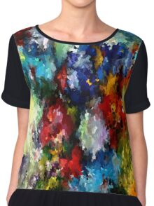 modern composition 03 by rafi talby Chiffon Top
