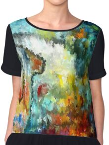 modern composition 04 by rafi talby Chiffon Top