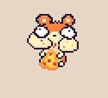Hamster Eating Pizza Pixel Art Unisex T-Shirt