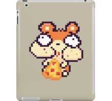 Hamster Eating Pizza Pixel Art iPad Case/Skin