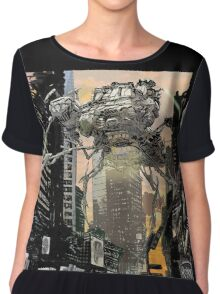 Invasion of the Earth Chiffon Top