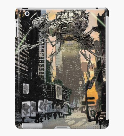 Invasion of the Earth iPad Case/Skin