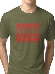 Nobody expects the spanish inquisition Tri-blend T-Shirt