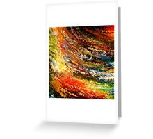 modern composition 07 by rafi talby Greeting Card