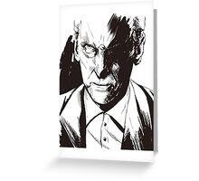 Angry Doctor Who Greeting Card