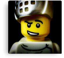Lego Fencer minifigure Canvas Print