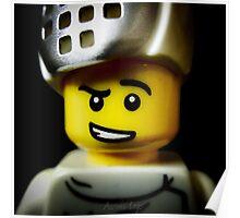 Lego Fencer minifigure Poster
