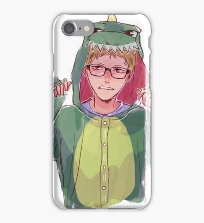 Dinosaur Onesie iPhone Case/Skin