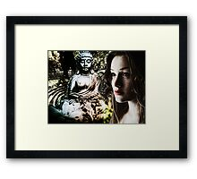 In Search of Peace Framed Print