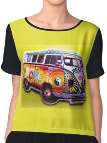 Love bus Chiffon Top