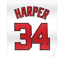 JERSEY HARPER 34 ! Poster