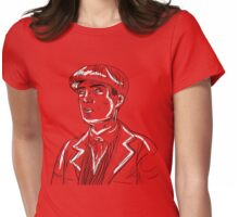 Tommy Shelby Graphic- Peaky Blinders Womens Fitted T-Shirt