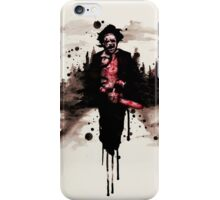 Leatherface 1974  iPhone Case/Skin