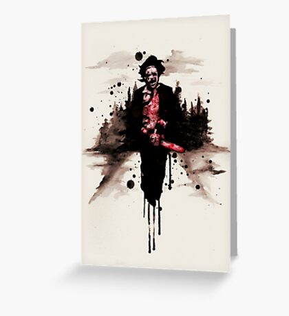Leatherface 1974  Greeting Card