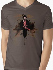 Leatherface 1974  Mens V-Neck T-Shirt