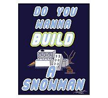 Winter Build Photographic Print