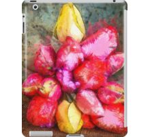 Tulips Pencil iPad Case/Skin