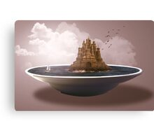 Sand castle in the sky Canvas Print