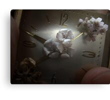 The Blooming, the Withering, and the Everlasting Canvas Print