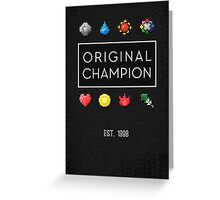#151 :: Original Champion Greeting Card