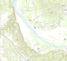 USGS TOPO Map Alabama AL Camden North 20110913 TM Sticker