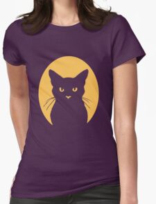 cat cameo Womens Fitted T-Shirt