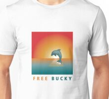 Free Bucky Sunset Unisex T-Shirt