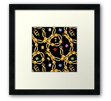 gold party  3 Framed Print