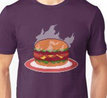 Super Size My Appetite Pixel Art Illustration Unisex T-Shirt
