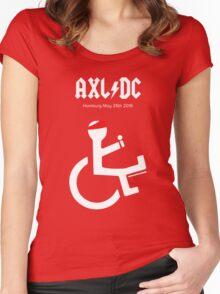 Funny AXL/DC Hamburg Women's Fitted Scoop T-Shirt
