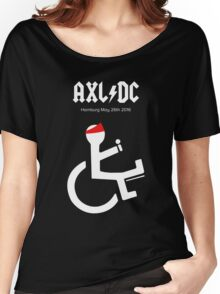 Funny AXL/DC Hamburg Women's Relaxed Fit T-Shirt