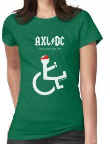 Funny AXL/DC Hamburg Womens Fitted T-Shirt