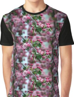Pink cherry blossoms  Graphic T-Shirt
