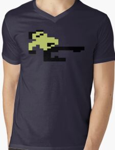 Bruce Lee C64 Mens V-Neck T-Shirt