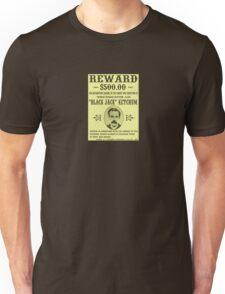 Black Jack Ketchum Wanted Unisex T-Shirt
