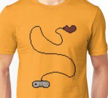 Playing My Last Life Pixel Art Illustration Unisex T-Shirt